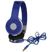 Sketchfab HD Stereo Wired Headphones - BLUE
