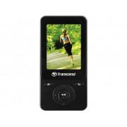 Transcend MP710 MP3-spelare, MP4-spelare 8 GB Svart Fitnesstracker, FM Radio, Stegräknare, Röstinspelning, eBook-funktion