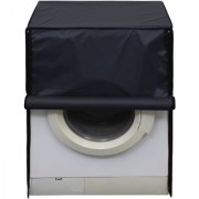 Glassiano Dustproof And Waterproof Washing Machine Cover For Front Load 6KG_Samsung_WF60F2H0N0W_Darkgrey