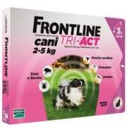 Merial Italia Frontline Tri act soluzione antiparassitario spot on per cani da 2 a 5kg (3 pipette)