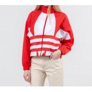 adidas Large Logo Jacket Lush Red/ White