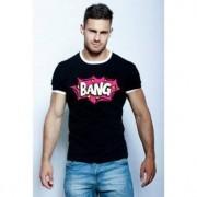 Epatage Современная мужская футболка с принтом черного цвета Epatage RT0102262m-EP