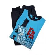 Skate Live chlapecké pyžamo BB8834 S světle modrá