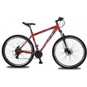 "Olpran muški brdski bicikl Apollo 13/29, crno-crveni, 21"""