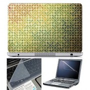 FineArts Laptop Skin Abstract Series 1055 With Screen Guard and Key Protector - Size 15.6 inch