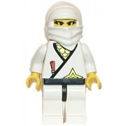 LEGO White Ninja Princess - Loose