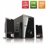 Колони MICROLAB M-700 U 2.1 USB/SD FM Radio с дистанционно