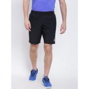 Reebok Black Polyester Lycra Walking Shorts