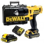 Винтоверт DEWALT DCD710C2, 10.8 V, 1500 об/мин, 1.3 Ah, 24 Nm
