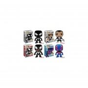 Funko Pop Set 4 Spider-man 2099 Punisher Venom Black Suit