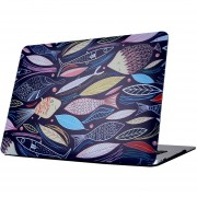 Para MacBook Air De 13,3 Pulgadas (2011 - 2013) A1369 Y A1466 / Md231 / Mc965 / Md760 / Md761 / Mc966 Cyprinus Carpio Patrón Laptop Water Decals PC Estuche Protector