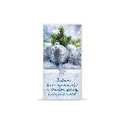 Karácsonyi francia borítékos lap