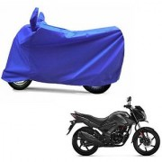Intenzo Premium Full Blue Two Wheeler Cover for Honda CB Unicorn 160