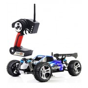 Tozo Rc Car High Speed 32 Mph 4x4 Fast Race Cars 1:18 Rc Scale Rtr Racing 4 Wd Electric Power Buggy W/2.4 G Radio Remote Control Off Road Truck Powersport Roadster Blue