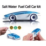 Salt Water Fuel Cell Car Kit - Science / Educational Toys for Kids Green Energy Project Birthday Game