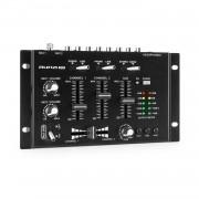 Auna Pro TMX-2211, MKII, DJ-Mixer, 3/2 канала, кросфейдър, talkover, стойка за стойка, черен (DJMM2_TMX2211MKII_BK)