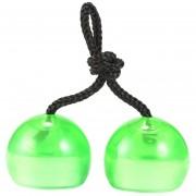 EB El Alivio Del Estrés LED Parpadeando La Luz Alcance Yoyo Ball Juguetes Juego De Habilidad - Verde