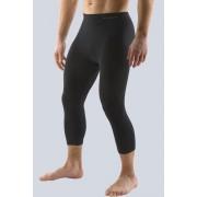 Bamboo Férfi sport leggings rövidebb fekete ML