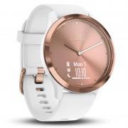 Garmin Vivomove HR Relógio Desportivo S/M Rosa Dourado com Correia Silicone Branca