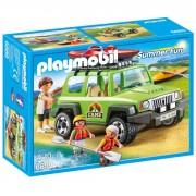 Playmobil Summer Fun: Vehículo 4x4 con canoa (6889)