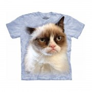 The Mountain All-over print t-shirt Grumpy Cat