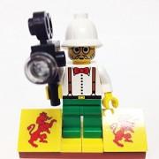 MinifigurePacks: Lego Adventurers - Desert Bundle(1) CHARLES LIGHTNING(1) FIGURE DISPLAY BASE(1) FIGURE ACCESSORY