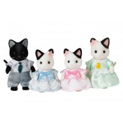 Familii Sylvaniene Familia de pisici cu pisica neagră