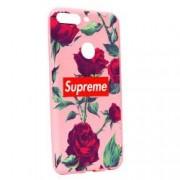 Husa de protectie Supreme Rose pentru OnePlus 5T Silicon P262