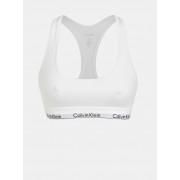 Calvin Klein biały biustonosz sportowy Bralette - L