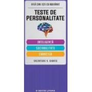 Teste De Personalitate Inteligenta. Sociabilitate. Caracter - Salvatore V. Didato