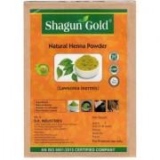Shagun Gold Natural Henna Powder (lawsonia Inermis ) 200g No Chemical No PPD