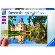 Puzzle castelul Islette, 500 piese Ravensburger