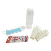Socepi Kit protezione covid, mascherina, guanti taglia S e gel