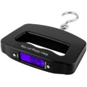 Bruzone Portable Electronic Digital LCD Screen Luggage Scale C46 Weighing Scale(Black)