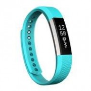 Fitbit Alta siliconen bandje, Large, Lengte: 22CM - Baby blauw