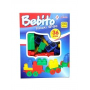Joc constructie Bebito Maxi Bloc, 36 piese