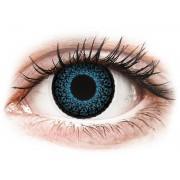 Maxvue Vision Lentes de Contacto Eyelush Azul com correção - ColourVUE