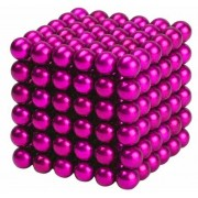 Neocube (216 balls,5mm) pink