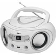 Stereoradio SR 4374 CD/USB-MP3/AUX, weiß - 400679