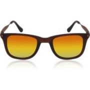 Kizaar Wayfarer Sunglasses(Golden)