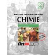 Chimie. Manual pentru clasa a IX-a autor Marius Andruh