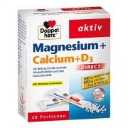 Queisser Pharma GmbH & Co. KG DOPPELHERZ Magnesium+Calcium+D3 DIRECT Pellets 20 g