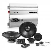 Silverhammer Car-HiFi-Set | Lautsprecher Komplettset | 2-Kanal-Endstufe