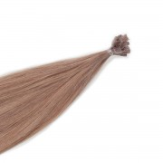 Rapunzel® Extensions Naturali Nail Hair Original Liscio 7.1 Natural Ash 50 cm