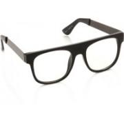 Gio Collection Wayfarer Sunglasses(Clear)