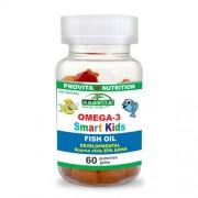 Omega 3 Smart Kids Provita Nutrition 60 jeleuri masticabile