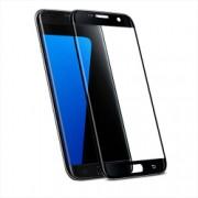 Folie protectie Samsung Galaxy S7 Edge Premium 3D cu sticla securizata Full Cover Negru