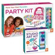 Paint Your Own Porcelain Party Kit set of 2