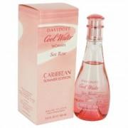 Cool Water Sea Rose Caribbean Summer For Women By Davidoff Eau De Toilette Spray 3.4 Oz