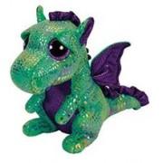 Jucarie de Plus Ty Beanie Boo Cinder the Green Dragon